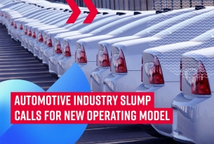 Automotive industry slump calls for new operating model
