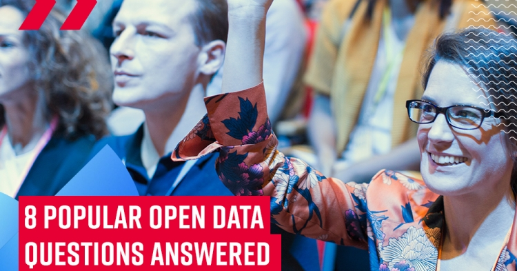 8 answers to the most popular open data questions